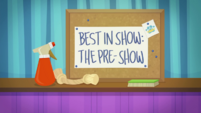 Best in Show - The Pre-Show title card EGDS35