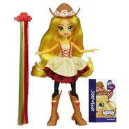 Rainbow Rocks Applejack Rockin' Hairstyle doll