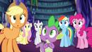 Twilight's friends in awe EG2