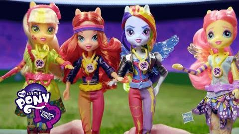 "MLP Equestria Girls Latino América - ""Juegos de Amistad Muñecas"" Comercial de TV"