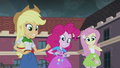 AJ, Pinkie and Flutters frightened EG3.png
