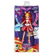 Friendship Games School Spirit Sunset Shimmer doll packaging