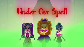 Rainbow Rocks ''Under Our Spell'' music video cover