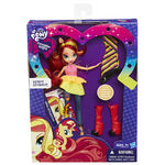 Rainbow Rocks Sunset Shimmer Fashion Doll packaging