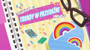 EG COYA04 02 WZ4 Karta tytułowa do odcinka ''Trendy w przyjaźni'' (polska wersja dubbingowa)