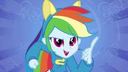"""EG1 Rainbow Dash na """"ekranie powitalnym"""""""