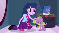 Twilight petting Spike EG