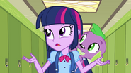 "Twilight and Spike ""I have to believe"" EG"