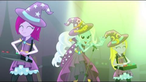 Hungarian Equestria Girls Rainbow Rocks Tricks Up My Sleeve HD