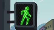 Pedestrian signal 'go' EG2