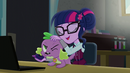 Sci-Twi petting Puppy Spike EG3