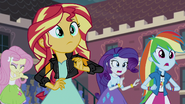 Sunset Shimmer looking ahead EG3