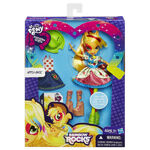 Rainbow Rocks Applejack Fashion Doll packaging