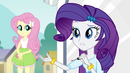 "Rarity ""the Dazzlings have cast..."" EG2"