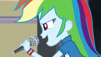 """Rainbow Dash """"there's other schools"""" EG3"""