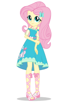 Fluttershy EG Digital Series official artwork