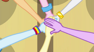 Mane Six center hands EG
