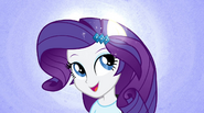 Rarity sprouts pony ears during Better Than Ever EG2