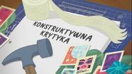 EG COYA08 02 WZ8 Karta tytułowa do odcinka ''Konstruktywna krytyka'' (polska wersja dubbingowa)