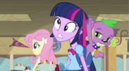 EG Spike uderza Twilight w głowę