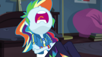 Rainbow Dash napping in Twilight's bedroom EGDS6