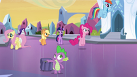 Main 6 arrive at Crystal Empire EG (1)