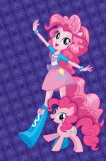 Primer Diseño de Pinkie Pie