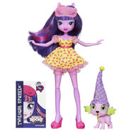 Rainbow Rocks Twilight Sparkle and Spike the Puppy figures