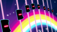Rainbow Rocks opening sequence dancing equalizers EG2