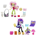 Equestria Girls Minis Fluttershy and Twilight Sparkle Sleepover set