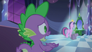 Spike asking Twilight what's wrong EG