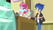 Flash Sentry and Mrs. Cake EG