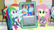 Guitar Centered video on Rainbow Dash's phone EG2