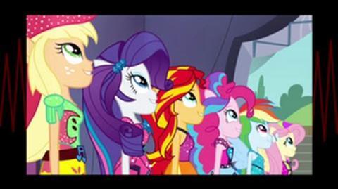 Italian Equestria Girls Rainbow Rocks Shine Like Rainbows HD