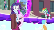 Rarity saves Velvet Sky and Fleur; Rainbow saves Bright Idea EG3