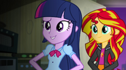 """Twilight Sparkle """"I don't think it matters what song we play"""" EG2"""