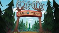 Legend of Everfree background asset - Camp Everfree entrance