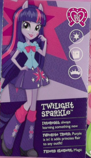 Twilight Sparkle in Equestria collection pamphlet cropped