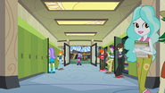 Twilight and Spike in the hallway EG