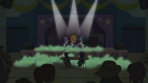 Hungarian Equestria Girls Rainbow Rocks Under Our Spell HD
