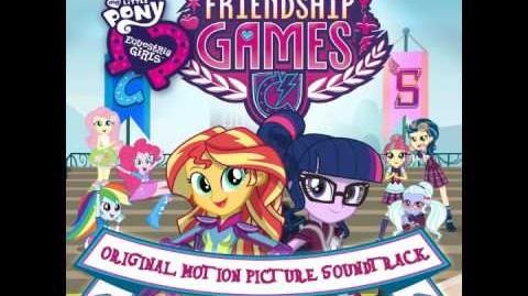 My Little Pony Equestria Girls Friendship Games OST ~ 10 Right There in Front of Me