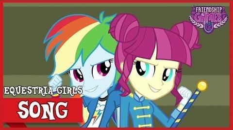 CHS Rally Song MLP Equestria Girls Friendship Games! HD