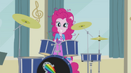 Pinkie the happy drummer EG2