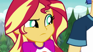 Sunset Shimmer uncomfortable with the tension EG4