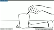 EG3 animatic - Sunset stirring her drink 2
