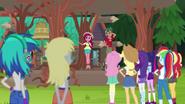 Gloriosa Daisy addresses the campers EG4