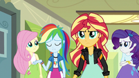 "Rainbow Dash ""she'd never do that"" EG3"