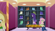 Rarity and friends picking out clothes EG