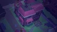 Twilight Sparkle's house windy exterior SS5