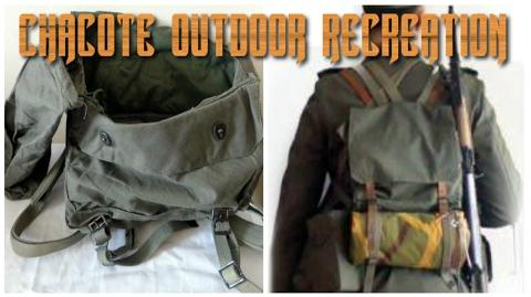 The old Yugoslavian Rucksack A Versatile Hunting Day Pack.